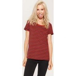 T-shirt basic - Brązowy. Brązowe t-shirty damskie House, l. Za 19,99 zł.