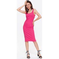 Sukienki: SUKIENKA DZIANINOWA DOPASOWANA