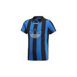 T-shirty z krótkim rękawem Dziecko  adidas  Koszulka Stripes. Niebieskie t-shirty chłopięce z krótkim rękawem marki S.Oliver, z nadrukiem, z bawełny. Za 89,95 zł.