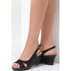Czarne Sandały That High. Czarne sandały damskie marki vices, na koturnie. Za 79,99 zł.