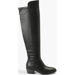 Kozaki czarne. Czarne buty zimowe damskie Badura. Za 591,99 zł.