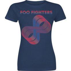 Foo Fighters Loops Koszulka damska granatowy. Niebieskie bluzki asymetryczne Foo Fighters, xxl. Za 74,90 zł.