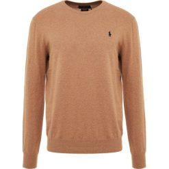 Polo Ralph Lauren SLIM FIT Sweter brown heather. Brązowe swetry klasyczne męskie Polo Ralph Lauren, l, z bawełny, polo. Za 629,00 zł.