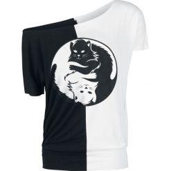 T-shirty damskie: Full Volume by EMP Matter Koszulka damska czarny/biały