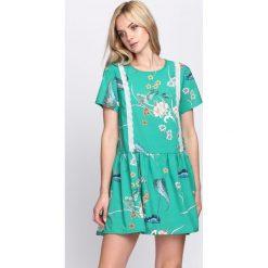 Zielona Sukienka Sweet Thing. Zielone sukienki letnie marki Born2be, l. Za 94,99 zł.