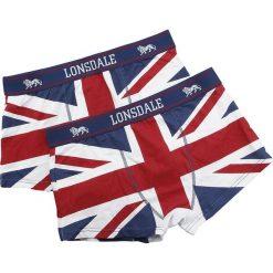 Lonsdale London Tisbury Bielizna czerwony/biały/niebieski. Biała bokserki męskie marki Lonsdale London. Za 74,90 zł.