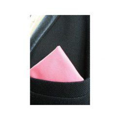 Poszetki męskie: Poszetka Różowy Diament