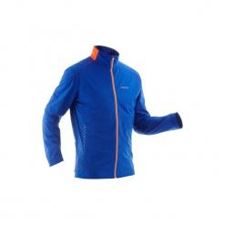 Bluza narciarska XC S 500 męska. Czerwone bluzy męskie rozpinane marki KALENJI, m, z elastanu, z długim rękawem, długie. Za 149,99 zł.
