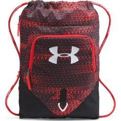 Plecak w kolorze czarno-czerwonym - (S)48 x (W)38 x (G)5 cm. Czarne plecaki męskie Under Armour. W wyprzedaży za 69,95 zł.