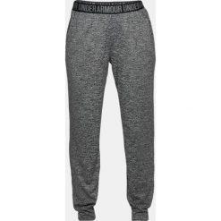 Spodnie sportowe damskie: Under Armour Spodnie damskie Play Up Twist Trousers szare r. L (1311331-001)