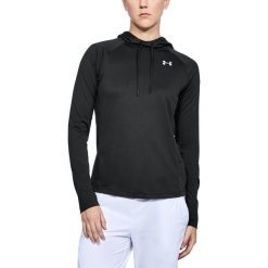 Bluzy damskie: Under Armour Bluza damska Tech LS Hood 2.0 czarna r. XL (1311502-001)