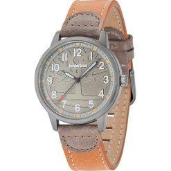 """Zegarki męskie: Zegarek kwarcowy """"Abington"""" w kolorze jasnobrązowo-srebrnym"""