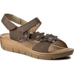 Rzymianki damskie: Sandały INBLU – LIABOO11 Brązowy