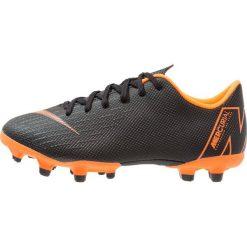 Buty sportowe chłopięce: Nike Performance VAPOR 12 ACADEMY MG Korki Turfy black/total orange/white