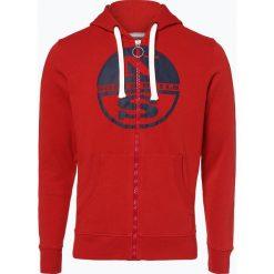 North Sails - Męska bluza rozpinana, czerwony. Czerwone bluzy męskie rozpinane marki KALENJI, m, z elastanu, z długim rękawem, długie. Za 299,95 zł.