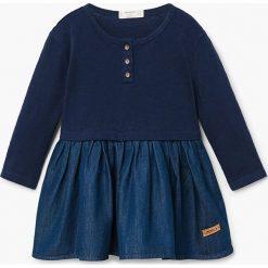 Sukienki dziewczęce: Mango Kids – Sukienka dziecięca Thelma 80-104 cm