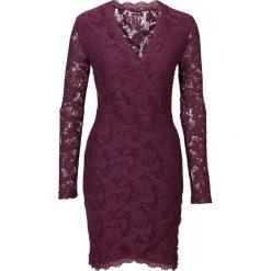 Sukienki: Sukienka koronkowa bonprix lila