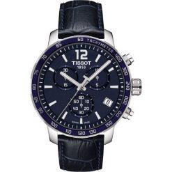PROMOCJA ZEGAREK TISSOT T-SPORT T095.417.16.047.00. Niebieskie zegarki męskie TISSOT, ze stali. W wyprzedaży za 1302,40 zł.
