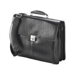 """Torba Falcon Media na laptopa skórzana 16"""" (FI2564). Czarne torby na laptopa marki Falcon Media. Za 314,97 zł."""