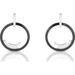 Kolczyki damskie: Kolczyki Srebrne – srebro 925, Ceramika…