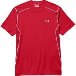Under Armour Koszulka męska Raid Shortsleeve M czerwona r. L (1257466-600). Czerwone koszulki sportowe męskie marki Under Armour, l. Za 126,93 zł.