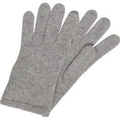 Rękawiczki damskie: Bickley+Mitchell Rękawiczki pięciopalcowe grey melee