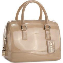 Torebka FURLA - Candy 868867 B BAS8 PL0 Acero. Brązowe kuferki damskie Furla, z tworzywa sztucznego. Za 850,00 zł.