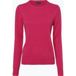 Marie Lund - Sweter damski z wełny merino, różowy. Czerwone swetry klasyczne damskie Marie Lund, m, z wełny. Za 229,95 zł.