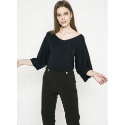 Morgan - Sweter. Szare swetry klasyczne damskie marki Morgan, l, z dzianiny. W wyprzedaży za 99,90 zł.
