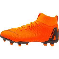 Buty sportowe chłopięce: Nike Performance SUPERFLY 6 ACADEMY MG Korki Turfy total orange/white/volt