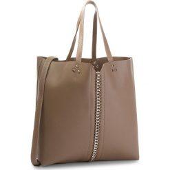 Torebka JENNY FAIRY - RC15344 Taupe. Brązowe torebki klasyczne damskie marki Jenny Fairy, ze skóry ekologicznej. W wyprzedaży za 69,99 zł.