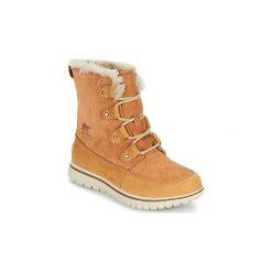 Śniegowce Sorel  COZY JOAN. Brązowe buty zimowe damskie Sorel. Za 504,00 zł.