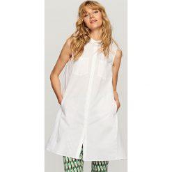 Koszula oversize - Biały. Białe koszule damskie marki Reserved. Za 119,99 zł.