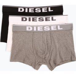 Diesel - Obcisłe bokserki męskie pakowane po 3 szt., czarny. Czarne bokserki męskie Diesel, z elastanu. Za 179,95 zł.