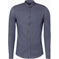 Drykorn - Koszula męska – Pike, niebieski. Szare koszule męskie na spinki marki Polo Ralph Lauren, l, z bawełny, button down, z długim rękawem. Za 449,95 zł.