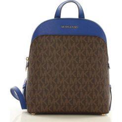 Oryginalny plecak MICHAEL KORS BROWN/ELECBLUE. Brązowe plecaki damskie Michael Kors, ze skóry, eleganckie. Za 1399,00 zł.