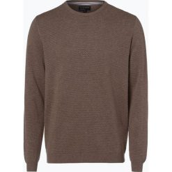 Swetry męskie: Nils Sundström – Sweter męski, beżowy