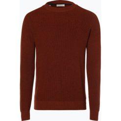 Selected - Sweter męski – Tyson, brązowy. Szare swetry klasyczne męskie marki Selected, l, z materiału. Za 229,95 zł.