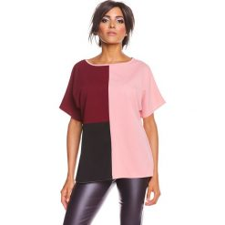 """Odzież damska: Koszulka """"Gina"""" w kolorze jasnoróżowym"""