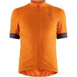 Craft Koszulka Rowerowa Męska Rise, Pomarańczowy M. Brązowe odzież rowerowa męska marki Craft, m, na fitness i siłownię. W wyprzedaży za 159,00 zł.