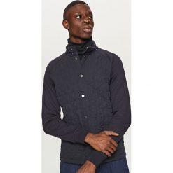Pikowana bluza - Granatowy. Białe bluzy męskie marki Reserved, l. Za 179,99 zł.