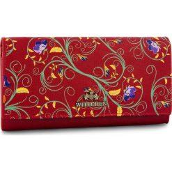 Portfele damskie: Duży Portfel Damski WITTCHEN - 14-1S-052-3X Red