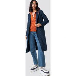 NA-KD Classic Płaszcz w paski - Multicolor,Navy. Niebieskie płaszcze damskie pastelowe NA-KD Classic, w paski. Za 242,95 zł.