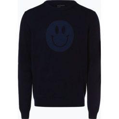 Nils Sundström - Sweter męski, niebieski. Niebieskie swetry klasyczne męskie Nils Sundström, m, z wełny. Za 279,95 zł.