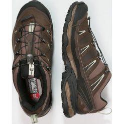 Salomon X ULTRA Obuwie hikingowe burro/absolute brown/beach. Czarne buty trekkingowe męskie marki Salomon, z gore-texu, na sznurówki, outdoorowe, gore-tex. W wyprzedaży za 471,20 zł.