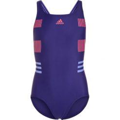 Stroje jednoczęściowe dziewczęce: adidas Performance SWIM INF Kostium kąpielowy real purple/real pink