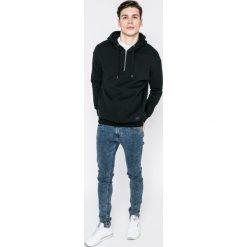Lee - Bluza. Czarne bluzy męskie rozpinane Lee, l, z bawełny, z kapturem. W wyprzedaży za 219,90 zł.