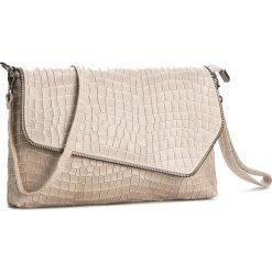Torebka CREOLE - K10362  Beżowy. Brązowe torebki klasyczne damskie Creole, ze skóry. Za 129,00 zł.
