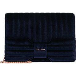 Ted Baker BOW XBODY Torba na ramię dark blue. Niebieskie torebki klasyczne damskie Ted Baker. Za 719,00 zł.