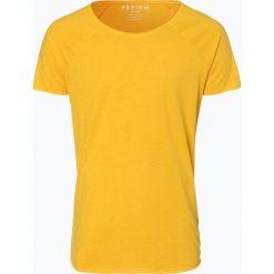 T-shirty męskie: Review - T-shirt męski, żółty